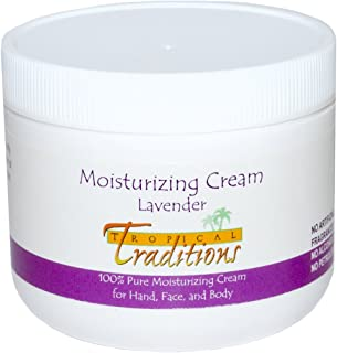 Tropical Traditions Moisturizing Cream Lavender -- 4 fl oz