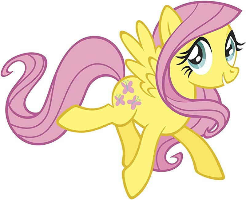 RoomMates My Little Pony Fluttershy Peel And Stick Giant Wall Decals