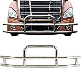 ORB Grille Guard for Freightliner Cascadia 2008-17 Bumper Guard Deer Guard High Polished Stainless Steel W/Brackets