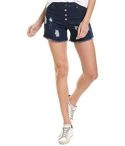 HUE Ultra Soft Denim High Waist Shorts