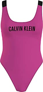 Calvin Klein womens SCOOP BACK ONE PIECE-RP One Piece Swimsuit