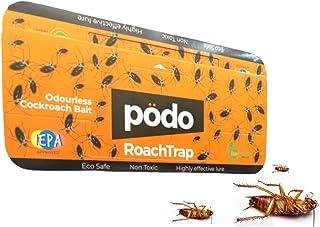 Podo Glue Cockroach Trap Sticker - Bait Trap Insect Killer - 10 Pieces