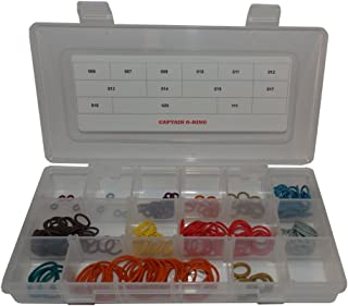 Captain O-Ring LLC Bob Long G6R - Color Coded 5x Box Oring Rebuild Kit
