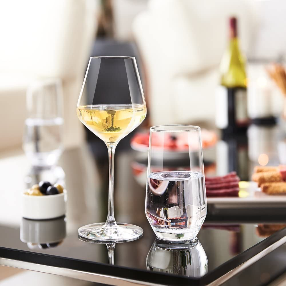 Ultime Collection Cristal DArques Paris Brilliance Box of 6 Tumblers 5cl High Durability Ideal for Young Wines Complete Transparency
