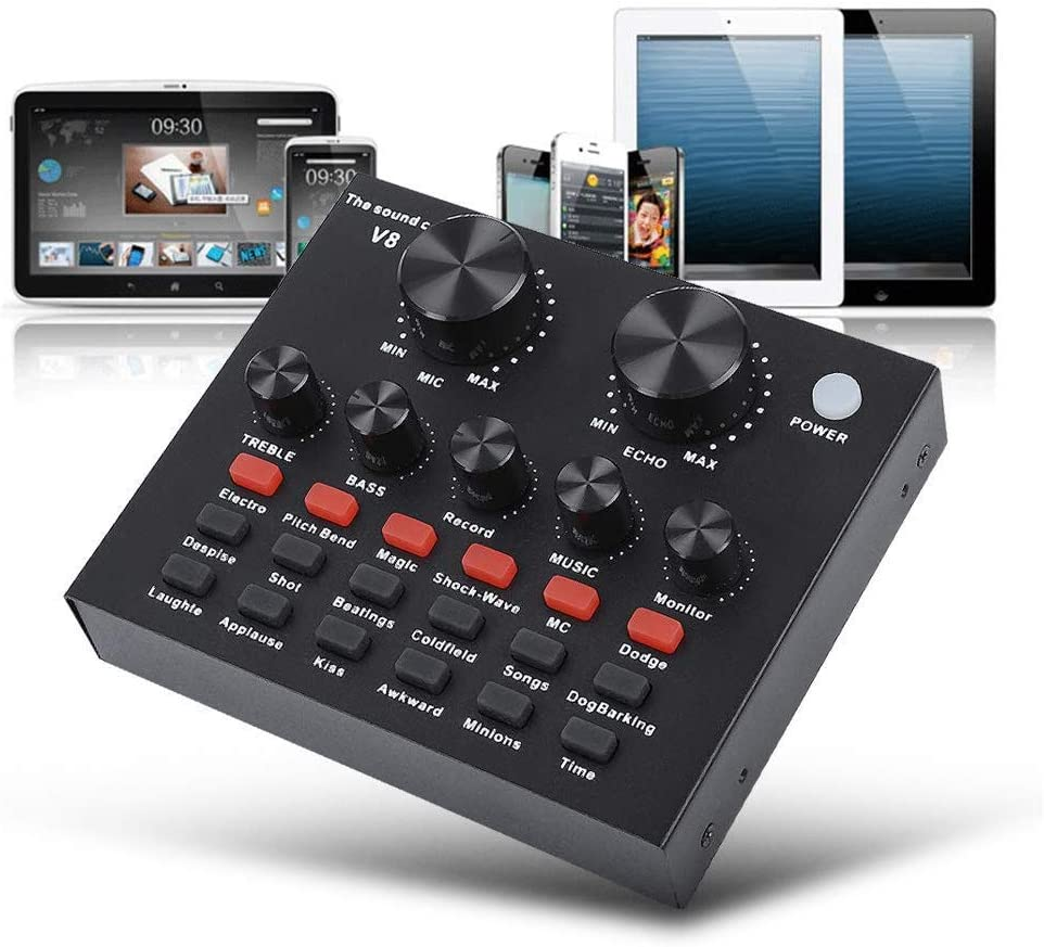 Live Sound Recommended Card Mini Mixer for Streaming High quality new Voic Board