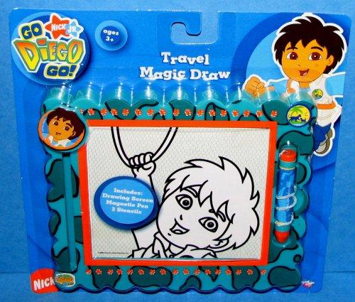 Go Diego Go - Travel Magic Draw Set