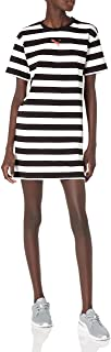 Women's Summer Stripes All Over Print Dress