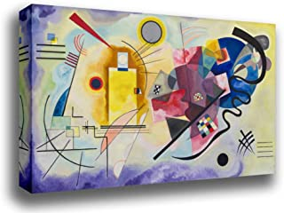 Odsan Gallery Stretched Canvas Print - Yellow Red Blue - by Wassily Kandinsky - 17