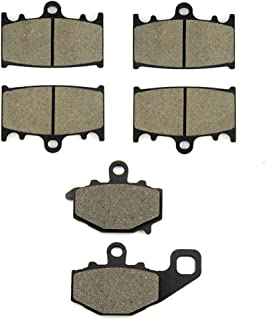 Traseras para Suzuki GSR 600 K // GSR 400 K 06-10 06-08 SOMMET Pastillas de Freno Delanteras