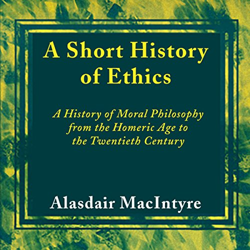 A Short History of Ethics cover art