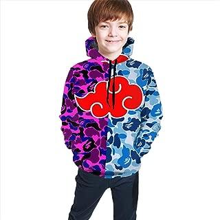 Naruto Bape Teen 3D Print Hoodies Fashion Hoodie Sweater for Boys and Girls