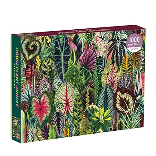 Galison Houseplant Jungle 1000 Piece Jigsaw Puzzle...