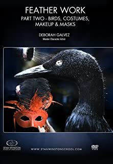 Feather Work Part 2: Birds, Costumes, Makeup & Masks