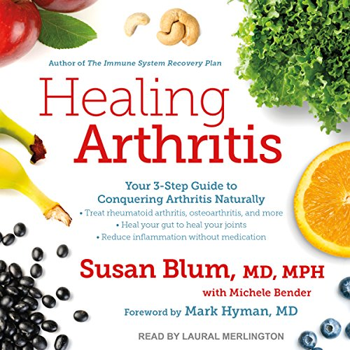 Healing Arthritis audiobook cover art