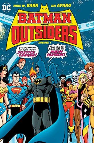 Batman & the Outsiders HC Vol 1 (Batman and the Outsiders)