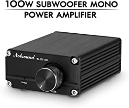 nobsound 100W Subwoofer/Full Frequency Mono Channel Digital Power Amplifier Audio Mini Amp