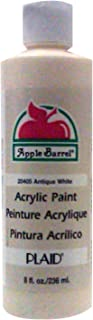 Apple Barrel Acrylic Paint in Assorted Colors (8 Ounce), J20405 Antique White