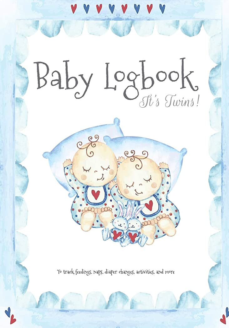Baby Logbook It's Twins!: Newborn Logbook for Track Feedings, Naps, Diaper Changes, Activities, and more (Baby Curriculum Newborn Tracker)