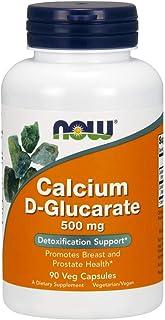 NOW Supplements, Calcium D-Glucarate 500 mg, 90 Veg Capsules