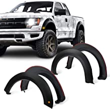 Front Rear Right Left Wheel Cover Protector Vent Trim CD-Parts Fender Flares Kit Fits 2009-2014 Ford F-150 Styleside Factory//OE Style 4pcs Matt Black