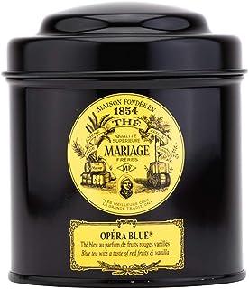 Mariage Freres Paris Opera Blue - Blauer Tee mit mit Roten Früchten und Vanilla - lose Teeblätter in Dose 100 g