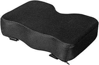 Rowing Machine Seat Cushion, THICKER Memory Foam, Washable Cover And Straps, Also Great With Exercise Recumbent Stationary...