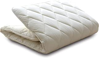 EMOOR Japanese Traditional Futon Mattress Classe (55 x 83 x 2.5 in.), Full-Long Size, Made in Japan