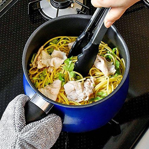 和平フレイズマルチポットLサイズ16cm3L(3~4人用)ネイビーIH対応ご飯鍋ミルクパン揚げ鍋ふっ素樹脂加工トゥーメイToMay一人暮らし新生活SRA-9473