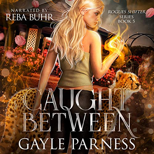 Caught Between Audiobook By Gayle Parness cover art