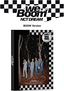 NCT Dream We Boom (Boom Version) Album CD+Booklet+Photocard+Boom Card+Circle Card+Gift (Extra 4 Photocards Set)