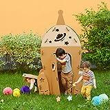 Karton Raumfähre. Kinder Raumschiff Spielhaus. Kartonspielhaus. Сreative Crafts Spielhaus für...