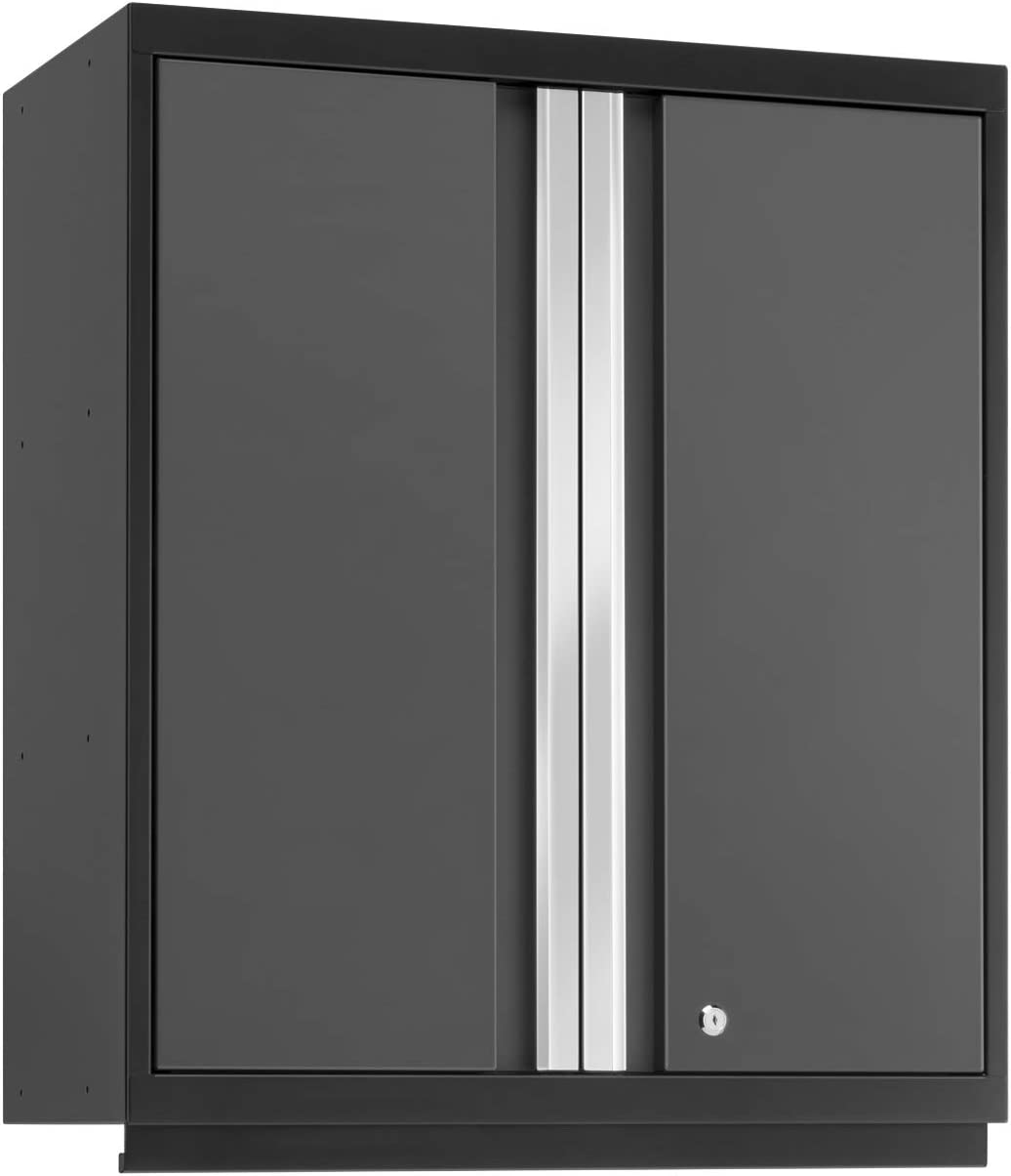 Super special price NewAge Products Pro Gray Tall Discount mail order Cabinet Wall 52015 Garage