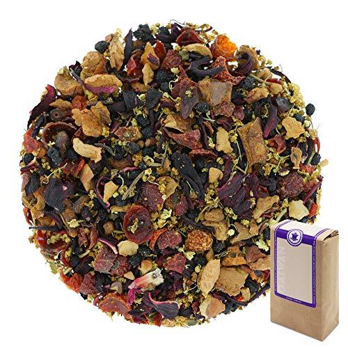 """Núm. 1263: Té de frutas orgánico """"Flor de saúco con vainilla"""" - hojas sueltas ecológico - 250 g - GAIWAN® GERMANY - manzana, rosa mosqueta, saúco, flor de saúco, hibisco"""