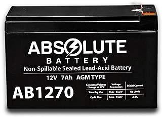 New 12V 7AH SLA Battery Replacement for Vexilar UP2012D FL-20 Ultra Pack