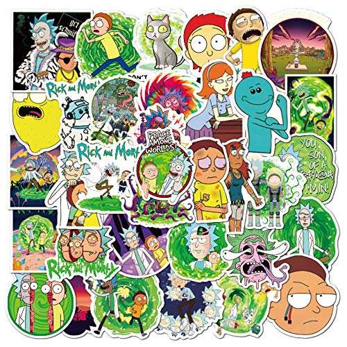 Personajes de dibujos animados europeos y americanos Pegatinas de maleta Maleta Casco Cargador Pegatinas Impermeables 100 hojas