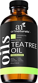 ArtNaturals Tea Tree Essential Oil 4oz - 100% Pure Oils Premium Melaleuca Therapeutic Grade Best for Acne, ...