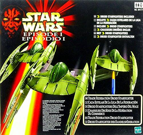Hasbro Trade Federation Droid Starfighter Star Wars The Phantom Menace 1999