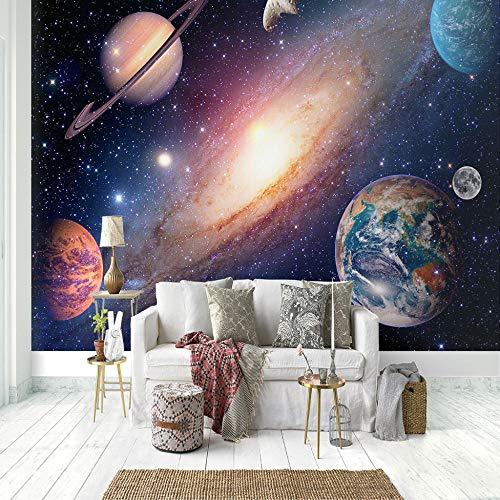 Murales Papel Pintado,Espiral cielo estrellado galaxia Tv Telón de Fondo Pared decorativos Murales Moderna Foto mural foto-mural foto póster deco pared -430x300cm