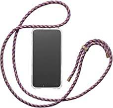 KNOK case Crossbody Phone Necklace | Mobile Cover with Cord Strap Compatible with iPhone 7 / iPhone 8 - Phone Collar Lanyard case (iPhone 7/8, Bordeaux)