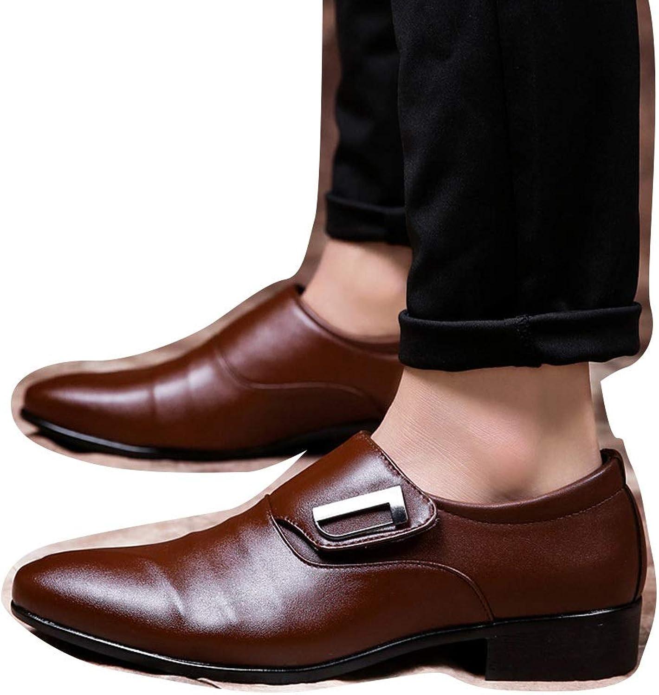 Large Size Men's shoes Casual shoes Pointed shoes Low shoes Cricket shoes (color   Brown, Size   42)