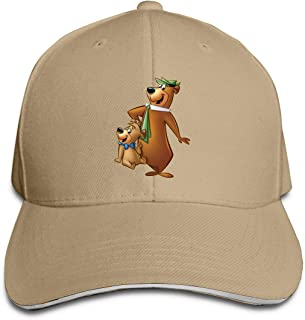 Eloise Reynolds Y-ogi Bear£¦B-oo-B-oo Classic Baseball Cap, Adjustable Fits Men Women Plain Low Profile Black Hat