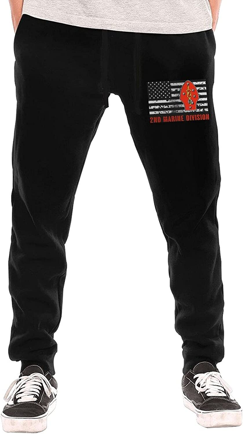 2nd Marine Division Men's Long Lightweight Sweatpants Jogg 70% OFF Outlet New products world's highest quality popular
