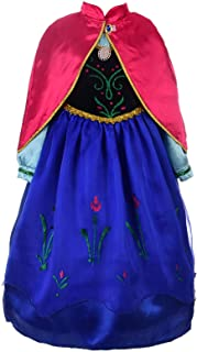 Dressy Daisy Girls Frozen Princess Anna Costumes Anna Dress Halloween Fancy Dress Up