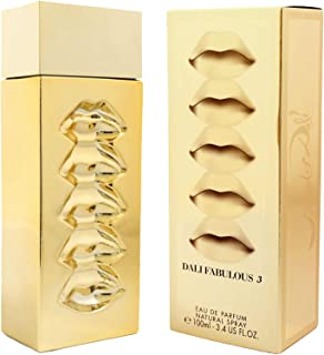 Dali Fabulous 3 by Salvador Dali Unisex Perfume Eau de Parfum 100ml