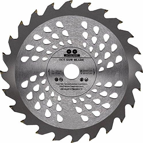Hoja de sierra circular de alta calidad (sierra de habilidad) de 160 mm con anillos de perforación de 30 mm, 25 mm, 20 mm, 16 mm para discos de corte de madera circulares de 160 x 32 x 24 T