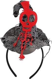 Girls Halloween Headband Witch Hat Spider Pumpkin Hairband Hair Accessory Halloween Cosplay Costume Dress Up Party Supplies