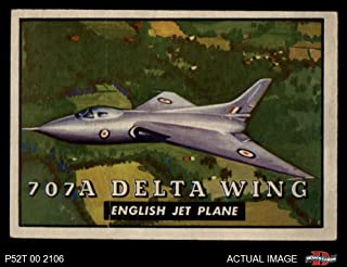 1952 Topps # 111 707A Delta Wing (Card) Dean`s Cards 3 - VG