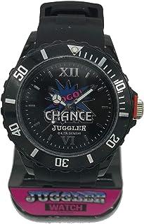 ジャグラー ウォッチ 腕時計 ブラック GOGO!CHANCE