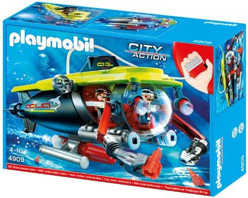 Playmobil 4909 - Tiefsee-Tauchboot mit Unterwassermotor