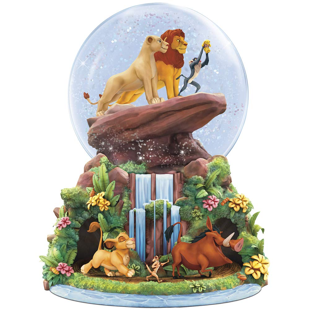 Image of Animated Disney Musical The Lion King Water Globe